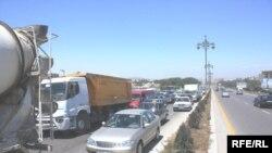 Bakı-Sumqayıt yolu. 31 may 2009