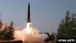 آزمایش راکتی کوریای شمالی