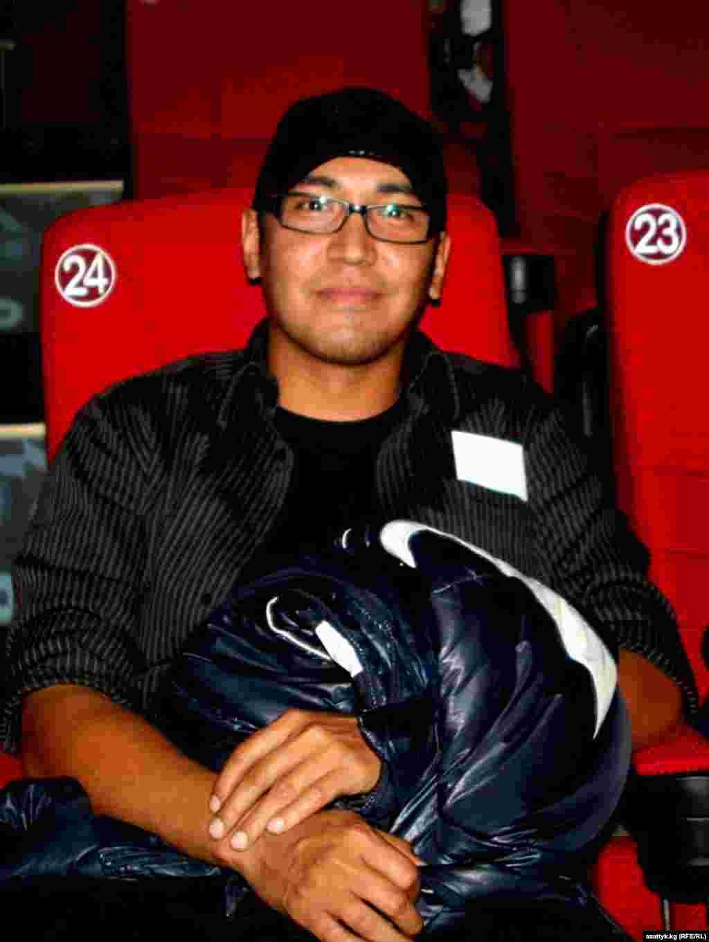 Мирлан Абдулаев - один из самых востребованных молодых актеров в Кыргызстане