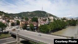 Վրաստան - Տեսարան մայրաքաղաք Թբիլիսիից