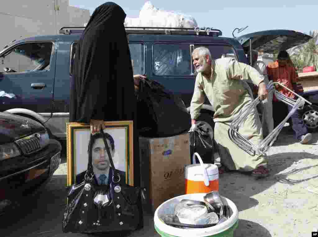 Сирийские беженцы в Багдаде