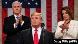 Дональд Трамп выступает в конгрессе. Вашингтон, 5 февраля 2019 года.
