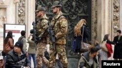 Италия полицейлері (Көрнекі сурет).