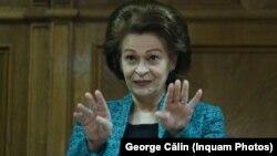 Cristina Tarcea, președinta instanței supreme, l-a întrebat pe Florin Iordache dacă soția lui era specializată sau nu în dosarele de corupție când lucra la Secția penală a ÎC