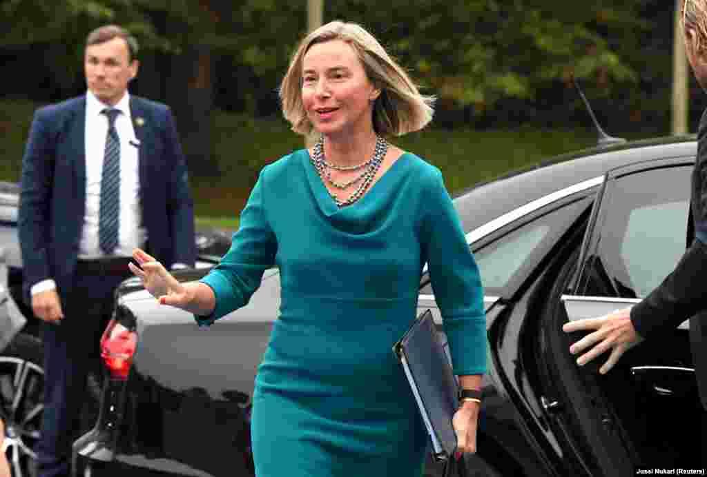 ФИНСКА - Шефицата на европската дипломатија, Федерика Могерини, порача дека на неформалниот состанок на министрите за надворешни работи на ЕУ забележала посилна поддршка и одлучност за проширувањето кон Западниот Балкан.