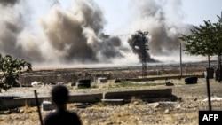 Сирийско-турецкая граница в районе города Каркамис (архивное фото)