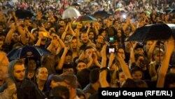 Վրաստան - Ռեփերների ձերբակալության դեմ բողոքի ցույցը Թբիլիսիում, 10-ը հունիսի, 2017թ․