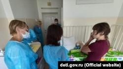 Проверка детских домов-интернатов в Крыму