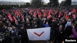 Pamje nga protesta e djeshme në Shën Petersburg