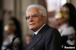 Președintele Sergio Mattarella