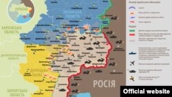 Ситуація в зоні бойових дій на Донбасі, 5 грудня 2014 року