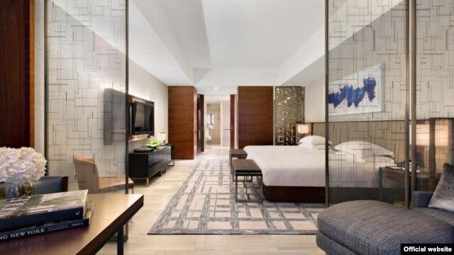 Один із номерів готелю Park Hyatt, у якому, зокрема, зупинялася українська делегація під час робочого візиту на 70-ту сесію Генасамблеї ООН у вересня 2015 року
