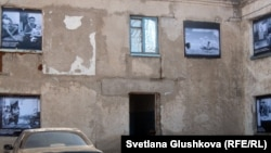 Өндіріс көшесіндегі шағын отбасыларға арналған жатақхана. Астана, 5 қыркүйек 2012 жыл. (Көрнекі сурет).
