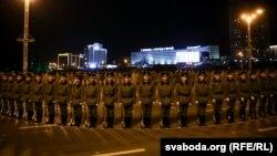 Minskdə 9 may paradının məşqləri zamanı