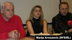 Nasljednici na konferenciji za novinare, 19. februar 2013.
