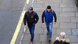 Петров и Боширов в Лондоне, 4 марта 2018 года
