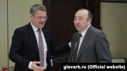 Радий Хабиров и Муртаза Рахимов