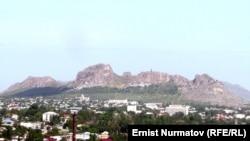 Вид на город Ош. Иллюстративное фото.