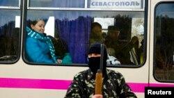 Представник так званої самооборони Криму. Ілюстраційне фото