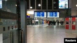 Գերմանիա - Դյուսելդորֆի երկաթուղային կայարանը հարձակումից հետո, 9-ը մարտի, 2017թ․