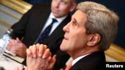 U.S. Secretary of State John Kerry holds nuclear talks in Vienna with Iranian Foreign Minister Mohammad Javad Zarif.