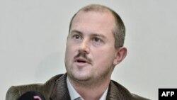 Лідер «Народної партії «Наша Словаччина» Мар'ян Котлеба
