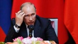 Ресей президенті Владимир Путин. Шанхай, 20 мамыр 2014 жыл.