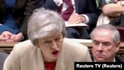 Theresa May parlamentdə