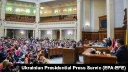 Верховна Рада 13 травня ухвалила законопроєкт про банки, необхідний для затвердження нової програми з Міжнародним валютним фондом (МВФ)