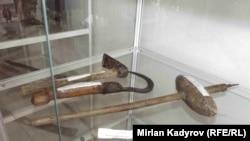 Кошой-Коргондогу тарыхый музейдеги экспонаттар