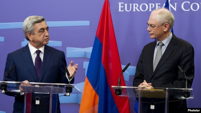 July 3-5: European Council President Herman Van Rompuy visits Armenia, Georgia, and Azerbaijan.