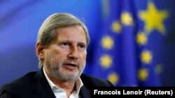 Johannes Hahn (file photo)