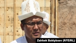Рахматулла ажы Эгембердиев и.о. муфтия Кыргызстана, 19 июля
