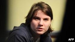 Одна из участниц группы Pussy Riot Екатерина Самуцевич. Иллюстративное фото.