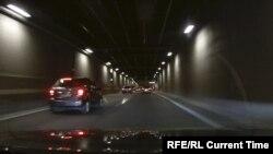 Автомобильный туннель в Стокгольме