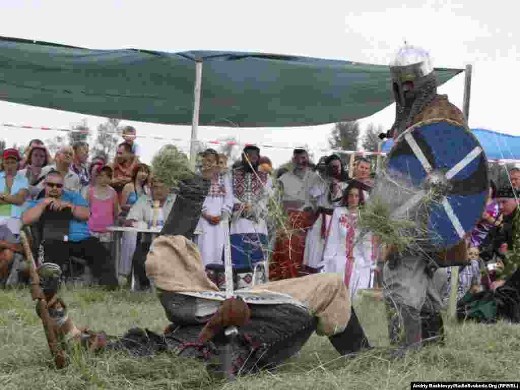 Лицарський турнір від міднародного клубу історичного фехтування «Європейський союз» (Україна, Білорусь, Росія)