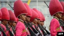 Тајландската кралска гарда.