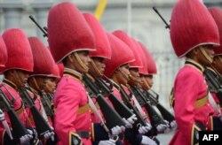 Королевская гвардия - одна из опор таиландской монархии