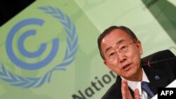 "United Nations Secretary-General Ban Ki-moon has pledged to ""cut fat"" from the UN budget."