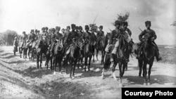 Расейская кавалерыя падчас Першай сусьветнай