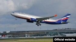 Ռուսաստան - Օդանավը թռիչք է կատարում մոսկովյան օդանավակայանից, արխիվ