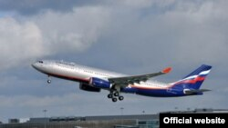 An Aeroflot Airbus (file photo)