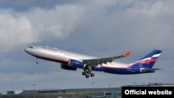 Russia - Aeroflot Airbus Taking Off at the Moscow Airport