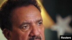 Министерот за внатрешни работи на Пакистан Рехман Малик.