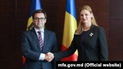 Nicu Popescu și Ramona Mănescu la București