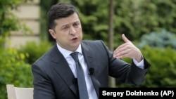 Ukraina prezidenti Volodımır Zelenskıy