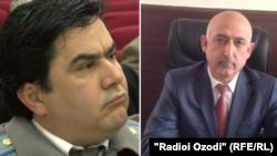 Фируз Холмуродзода (слева) и Давлатбек Хайрзода (справа)