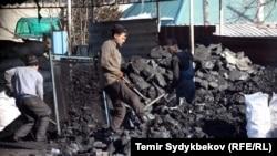 Kyrgyzstan - coal in Bishkek, undated, generic