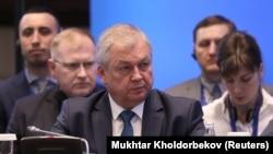 Russia's special envoy for Syria Aleksandr Lavrentyev (file photo)