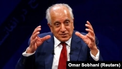 U.S. envoy for peace in Afghanistan Zalmay Khalilzad (file photo)